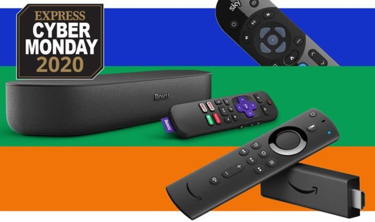 Sky Q, Freeview TVs, Roku and Fire TV Stick are all dropped in price for Cyber Monday