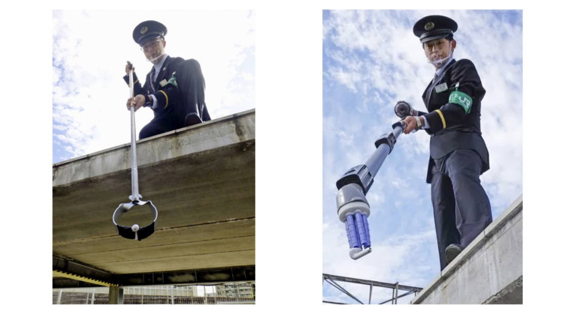 East Japan Railway creates AirPods capturing contraption