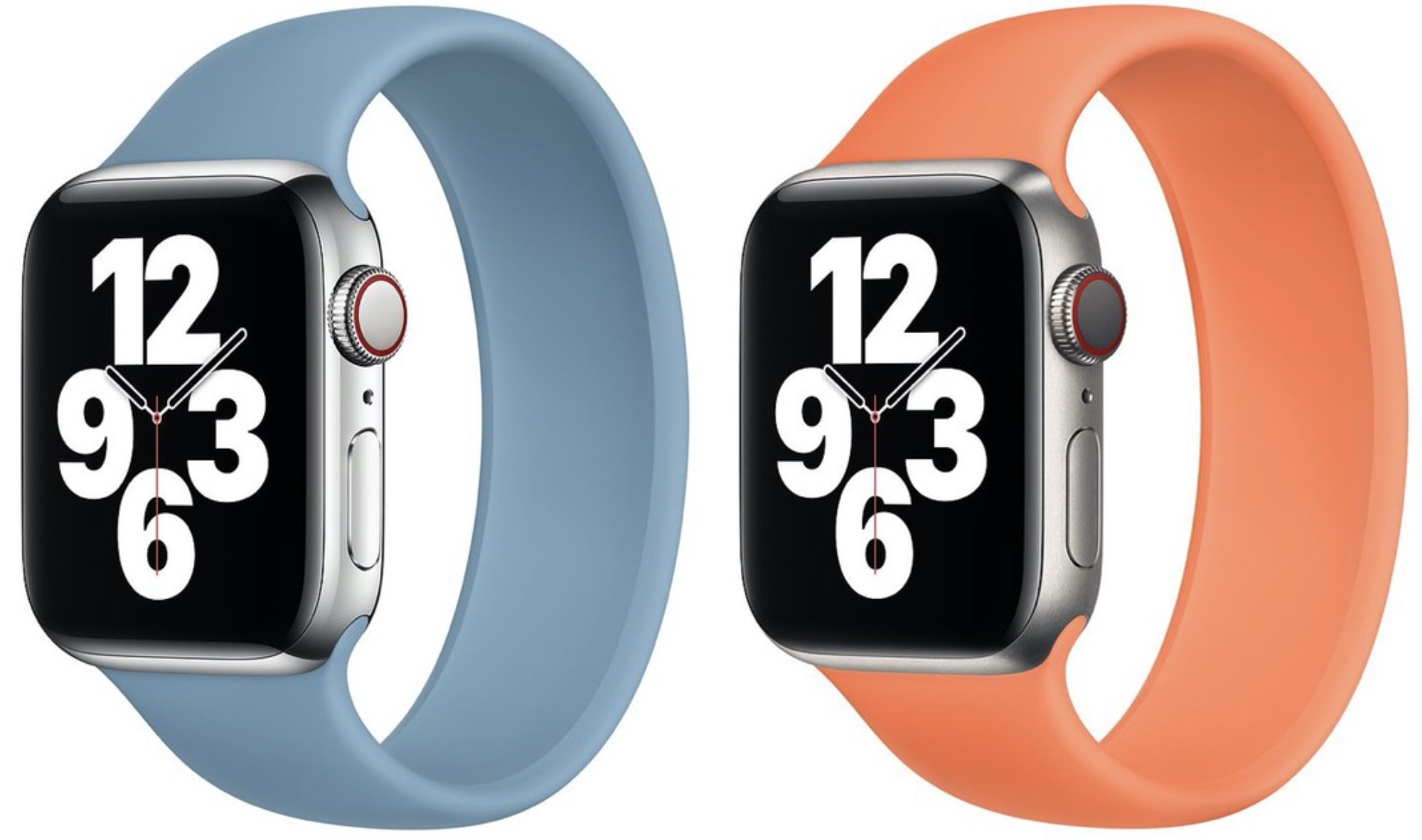 New Apple Sport Bands and Solo Loop released