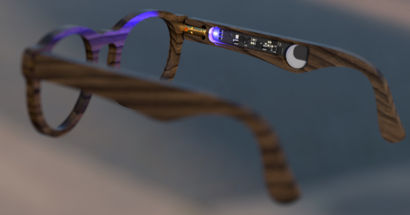 Turn-by-turn Smart Glasses Give You Direction