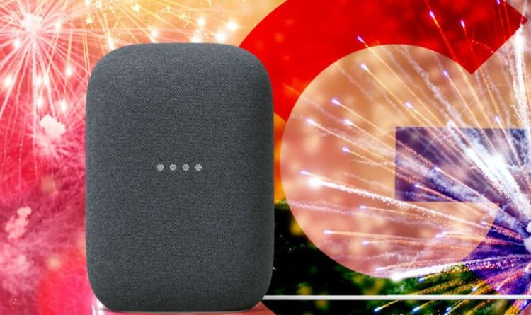 Google adds trick for New Year tonight to all Google Nest speakers