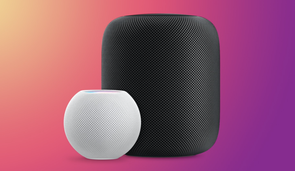 HomePod Mini and HomePod update 14.3 available now