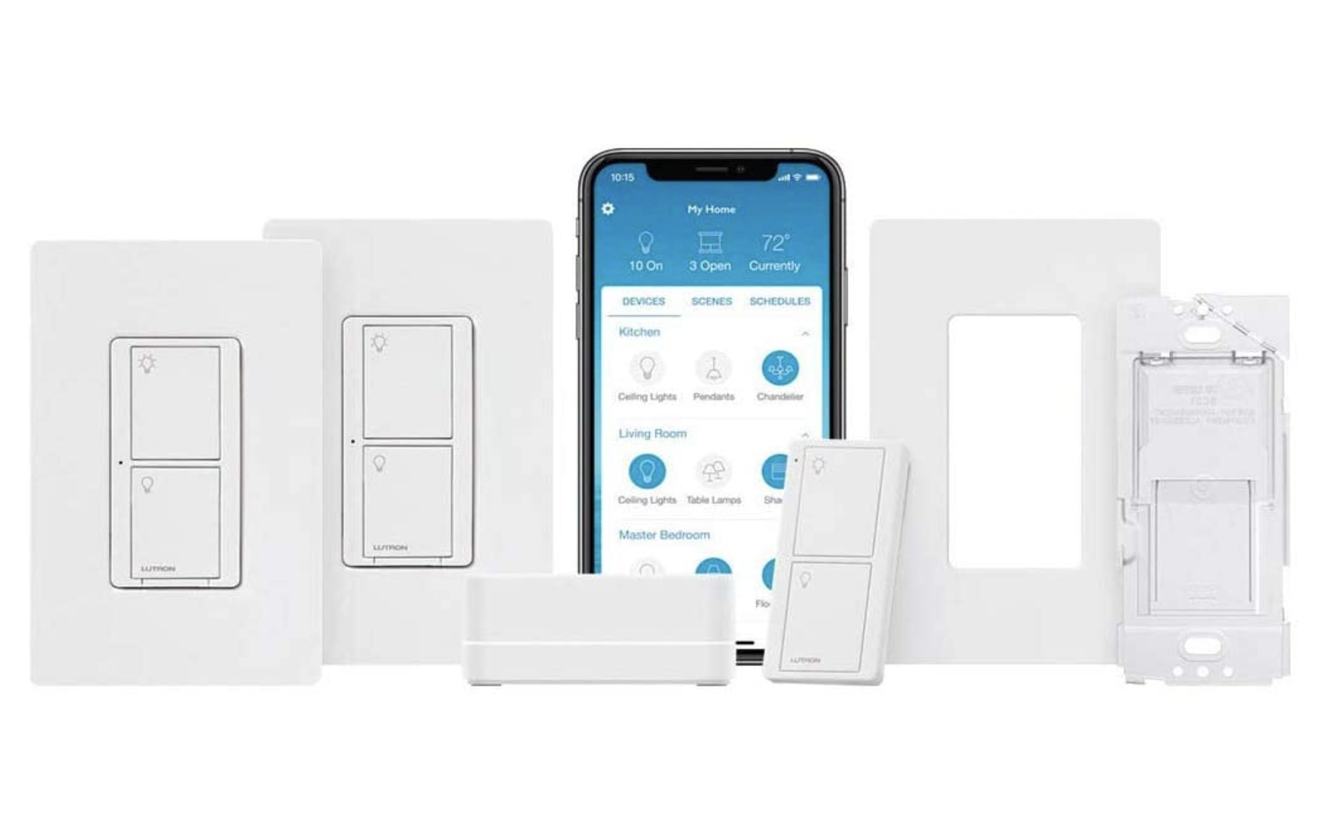 Set Up Your Smart Home Lighting With The Discounted Lutron Caseta Deluxe Smart Switch Kit