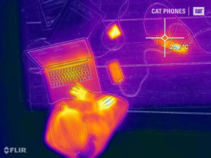 Thermal imaging reveals the electrical dangers faced by UK's army of home workers