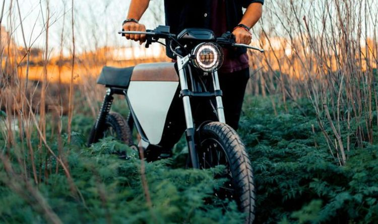 Stunning Great Escape-inspired electric bike has a top speed of 60mph