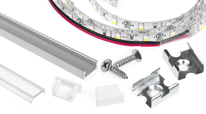 How to Create Your Own LED Light Fixture: Aluminum Channels