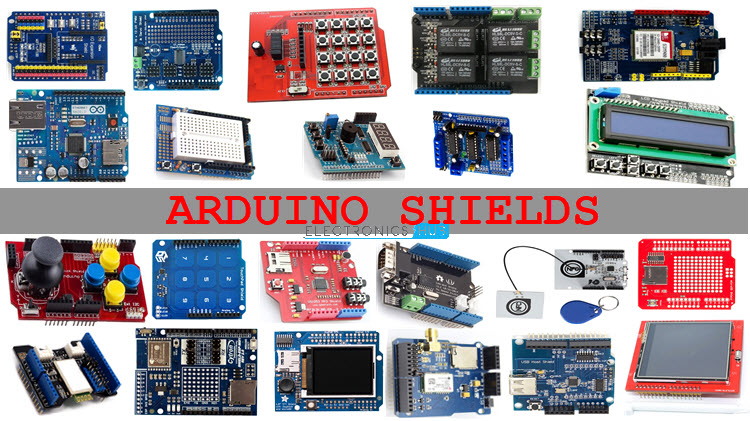 List of Arduino Shields | Arduino Compatible Shields for DIY Projects