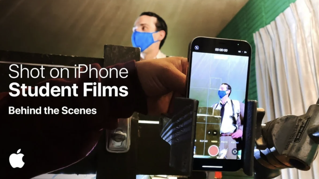 Apple reveals behind the scenes video on 'Shot on iPhone Student Films'