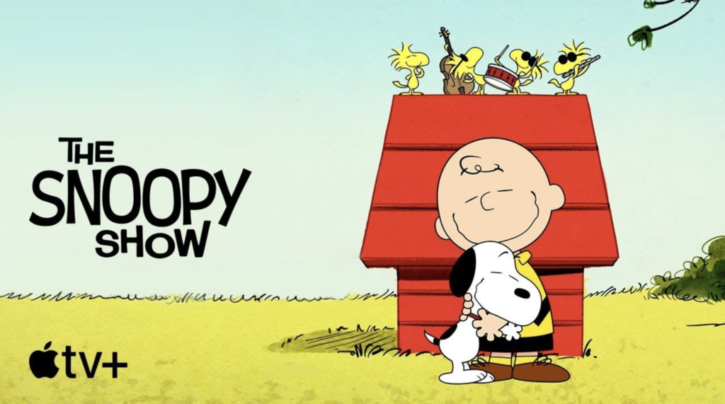 'The Snoopy Show' trailer video appears on YouTube