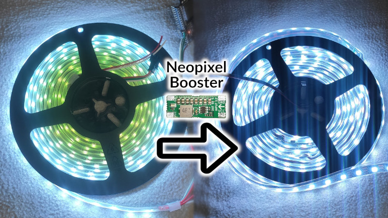 Smart Power Delivery For Long LED Strips