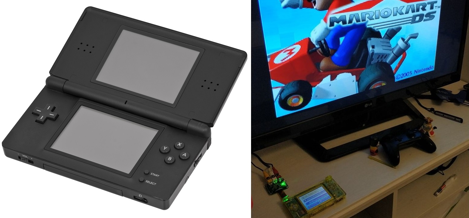 Hidden TV-Out On The Nintendo DS Lite