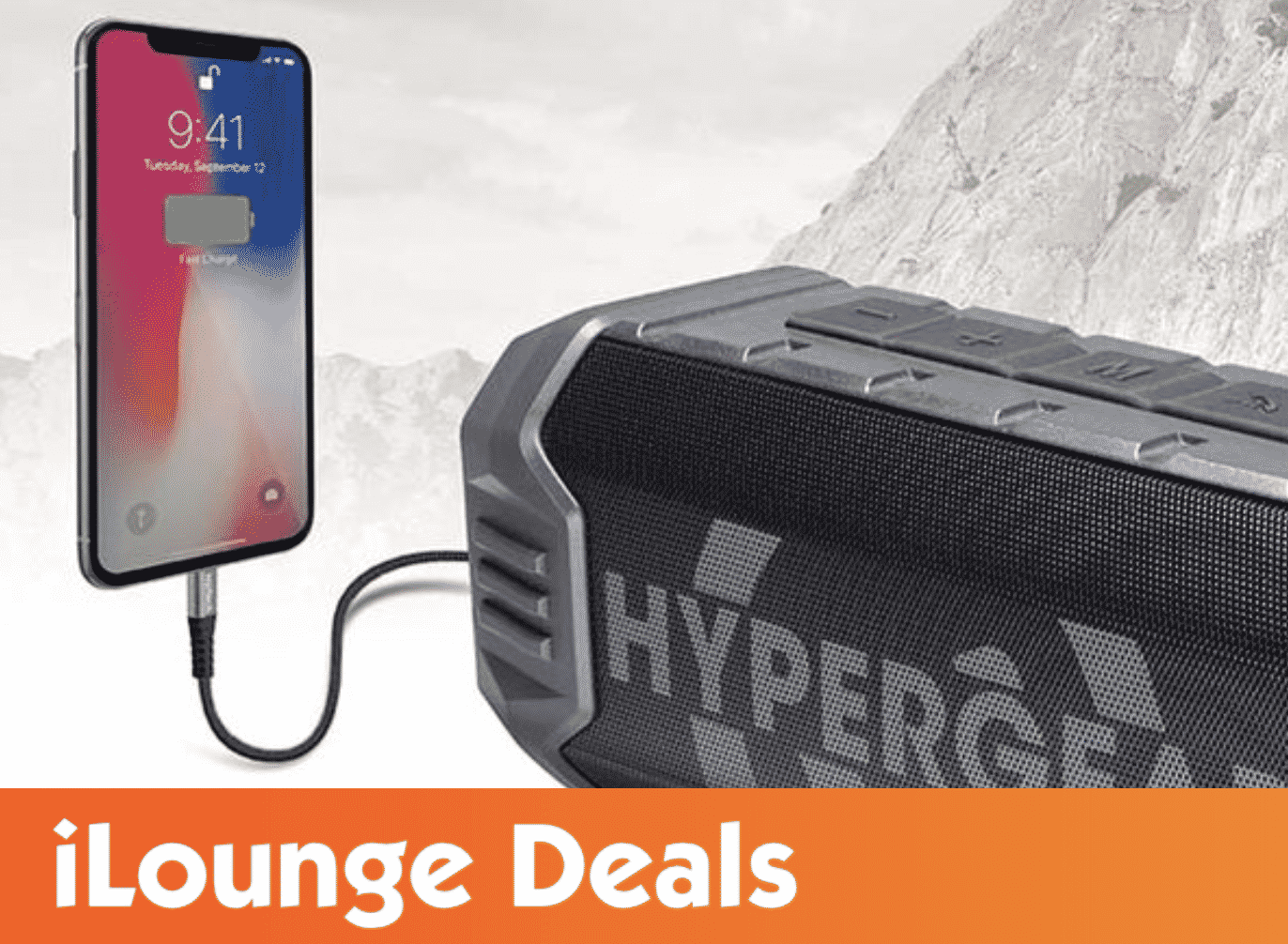 HyperGear Quake Wireless Speaker with Built-in Power Bank is 25% Off