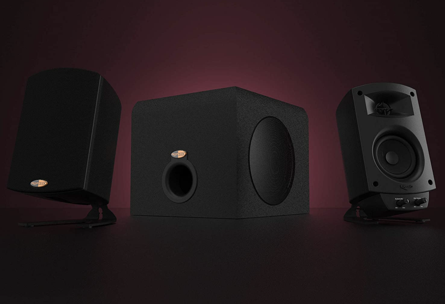 Upgrade to Klipsch ProMedia 2.1 THX certified computer speakers and save $42