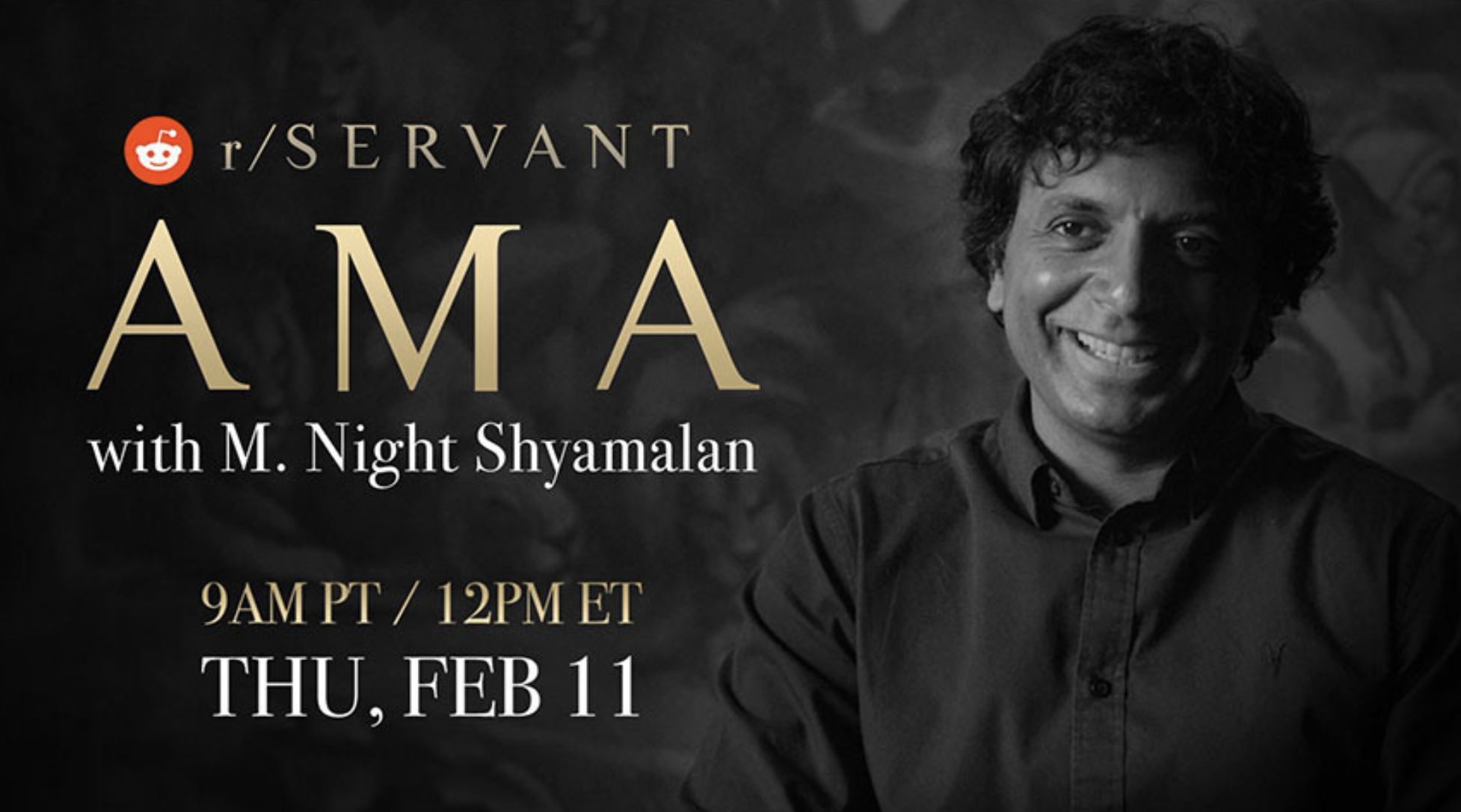 Reddit's 'Ask Me Anything' will feature M. Night Shyamalan