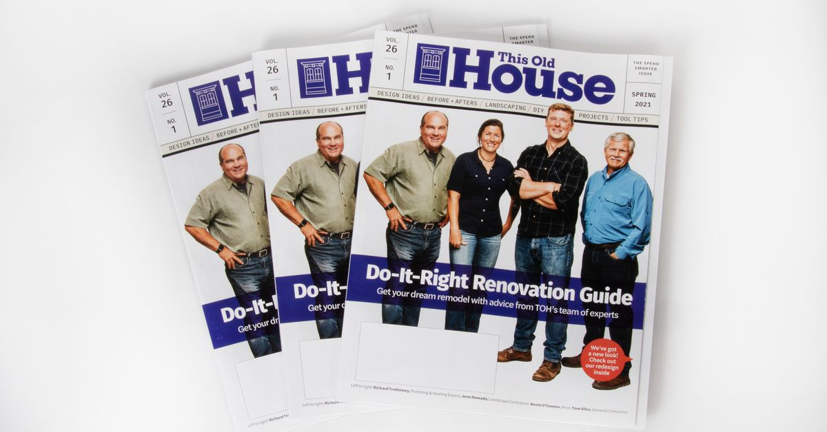 """This Old House Announces Upgrade of """"This Old House Magazine"""" to More Premium, Quarterly Publication"""