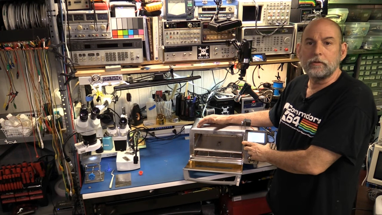 Learn Bil Herd's DIY Surface Mount Assembly Process