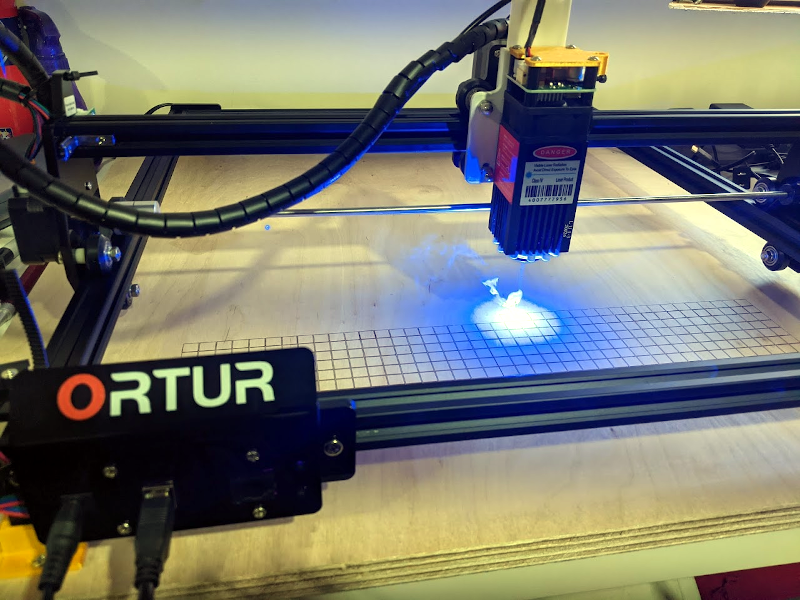 Hands On With The Ortur Laser Cutter