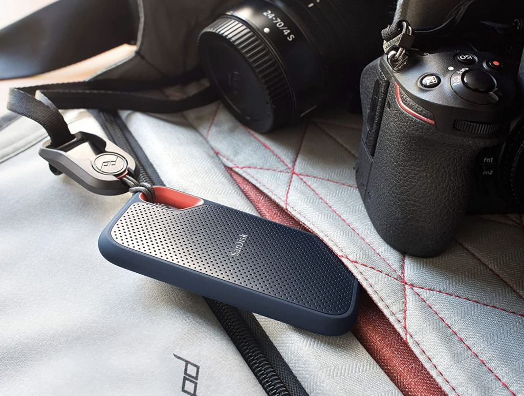Bring your files everywhere with the SanDisk 1TB portable SSD, now only $150