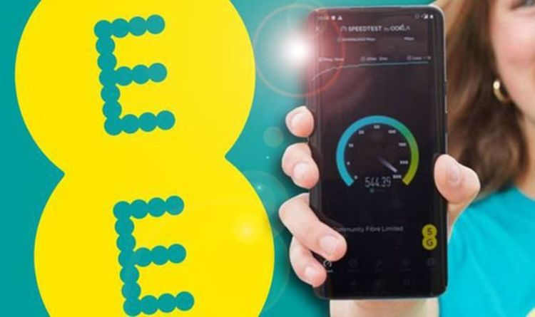 More EE customers offered speeds that will beat using their broadband