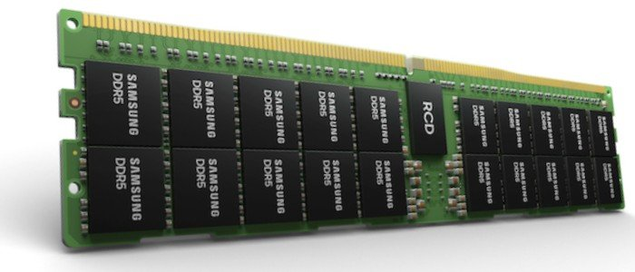 Data Workloads Catch a Break With Samsung's DDR5 and HKMG Process Technology