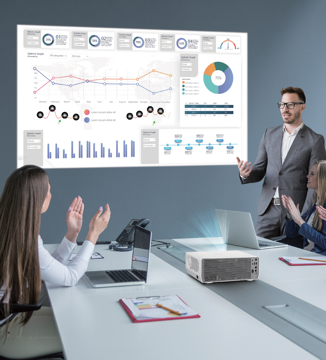 New ProBeam Business Projectors From LG Offer Even Greater Convenience And Performance