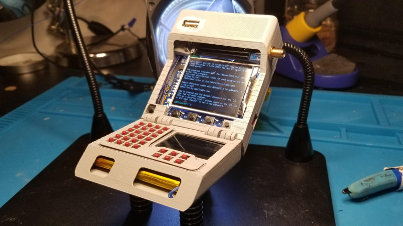 Tightly Packed Raspberry Pi Tricorder Impresses