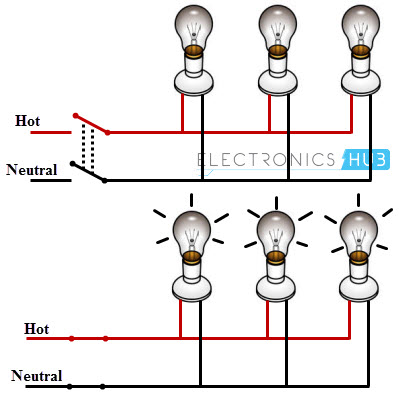 Electrical Wiring Systemethods, Wiring Diagram For House Lighting Circuit Pdf