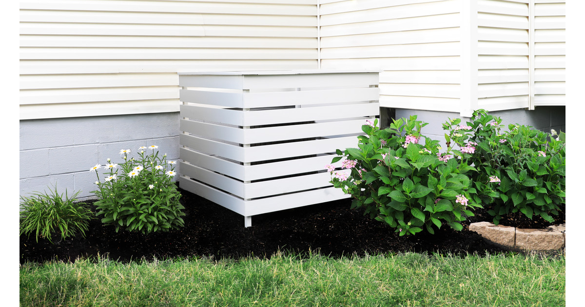 How to Build an Outdoor Air Conditioner Cover