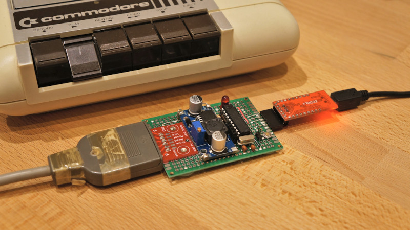 TrueTape64 Is A PC Interface For Your C64 Datasette