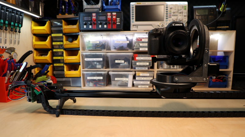Perfecting A 3D Printed Camera Motion Control Rig