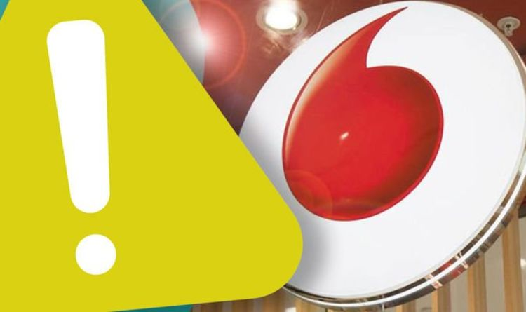 Vodafone network issues leave customers without access to the internet