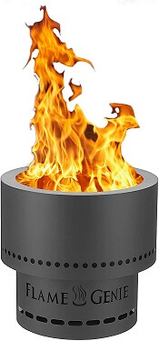 flame fire pit
