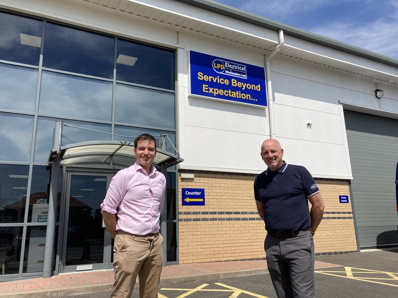 Electrical wholesaler LPD Electrical opens new premises in Leigh