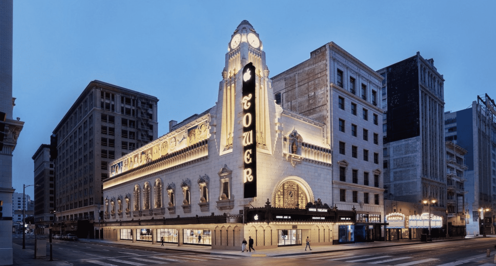 Apple reveals first look at the Tower Theatre Store
