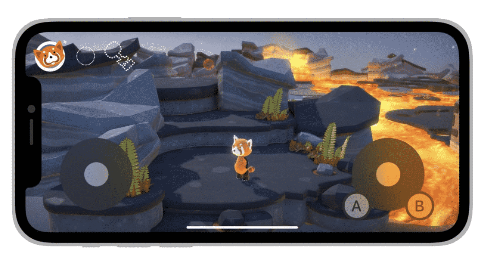 On-Screen game controller unlocked for developers on iPadOS 15 and iOS 15