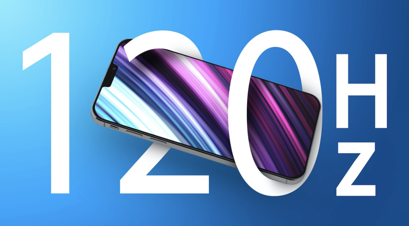 120Hz display production rumors for iPhone 13 Pro Surface