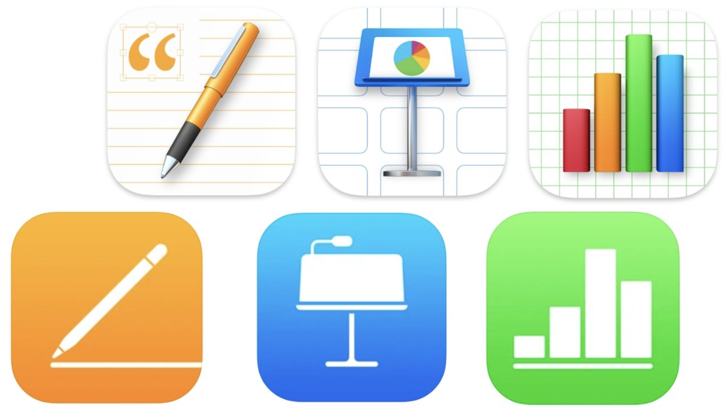 iWork apps updated with new tools and links