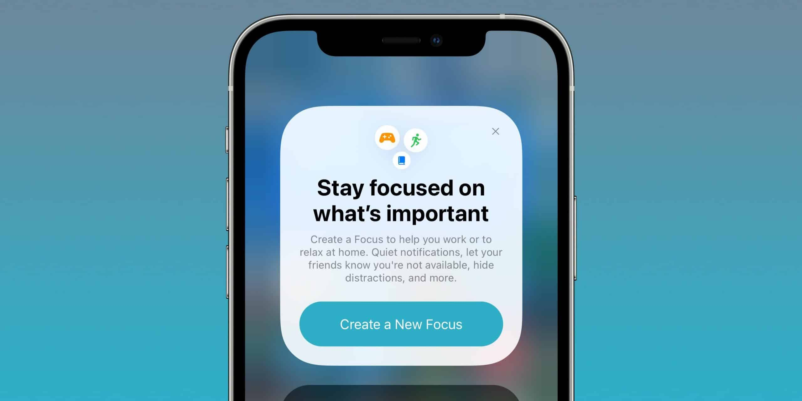 """iOS 15 brings new """"focus"""" features to manage notifications"""