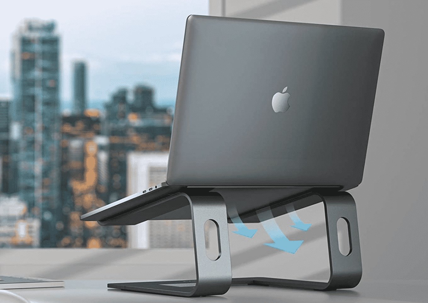 Prop Up Your MacBook Ergonomically with the Nulaxy C3 Aluminum Stand, Now $5 Less