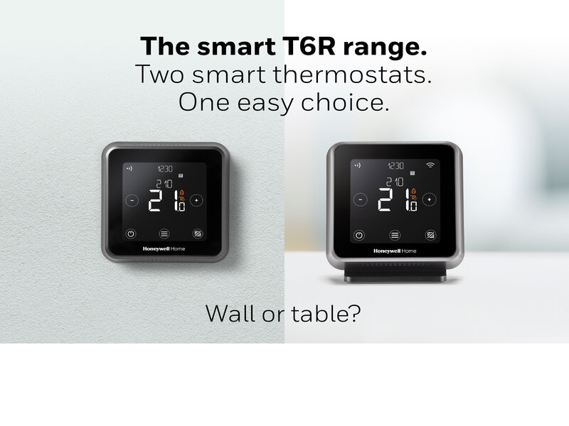 T6 range of smart thermostats simplified   Resideo