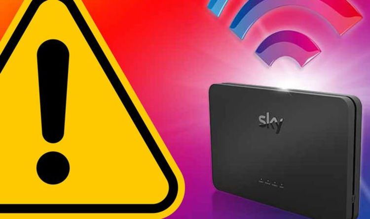 Sky broadband down again! Anger as internet stops working in new outage