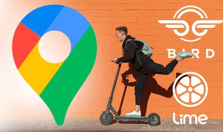 Download this Google Maps update if you use an eBike or scooter