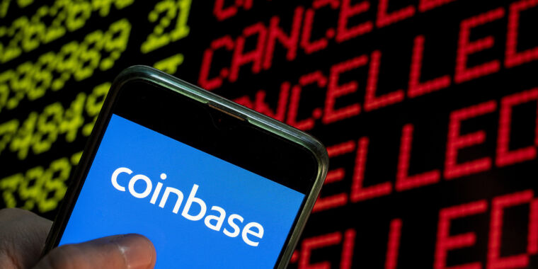 Coinbase erroneously reported 2FA changes to 125,000 customers