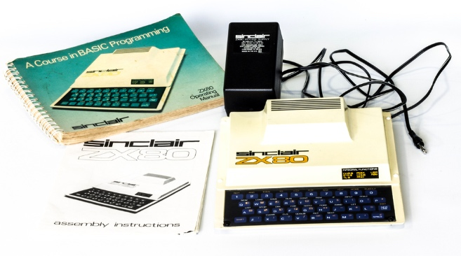 The ZX80 home computer