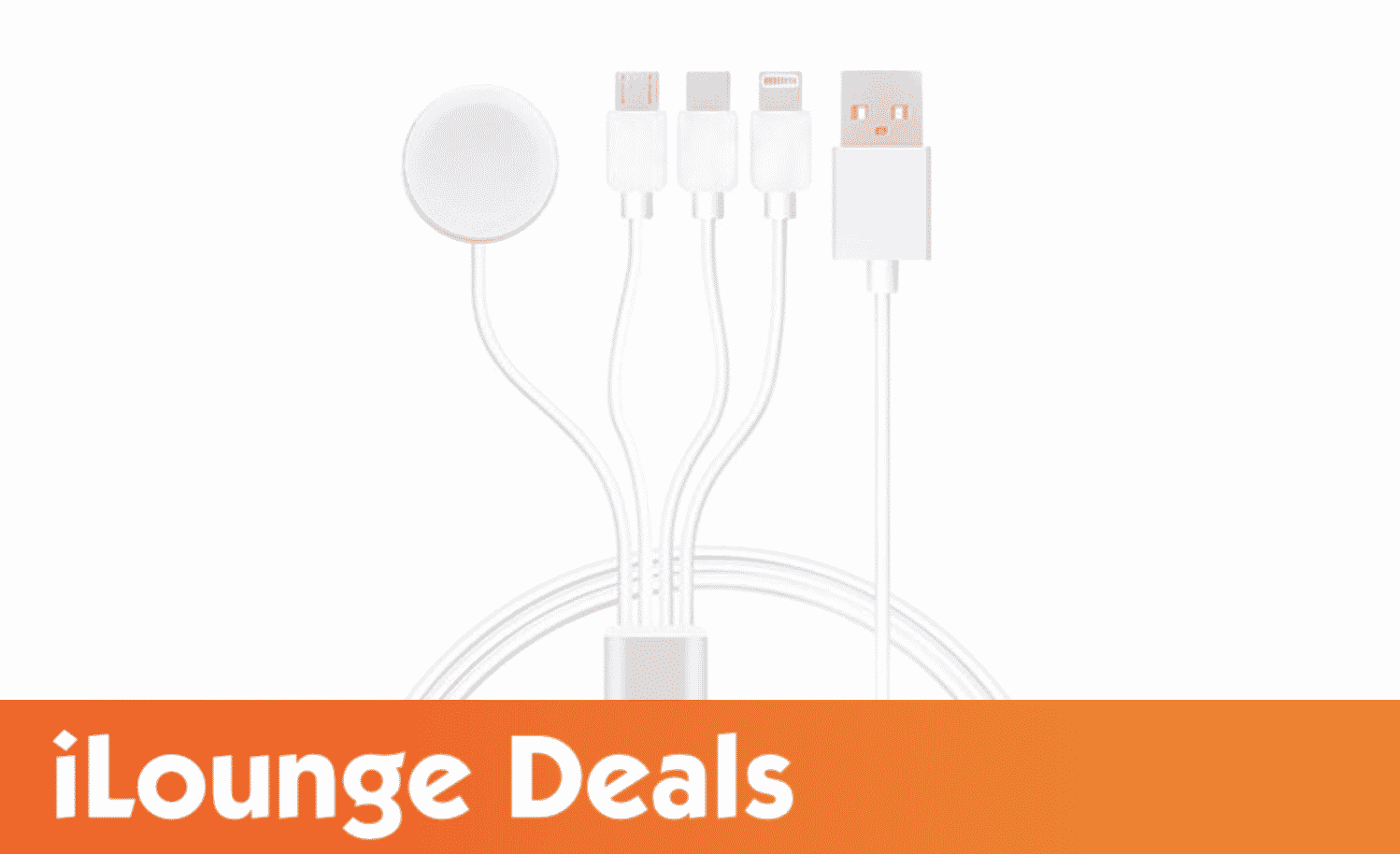 4-in-1 Multi Port & Apple Watch Charger is 48% off