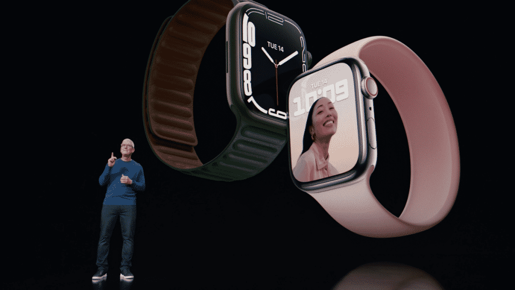 Apple Watch Series 7: Larger and brighter screen