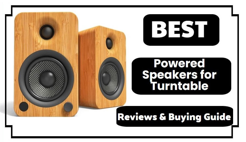 10 Best Powered Speakers for Turntable 2021 Reviews