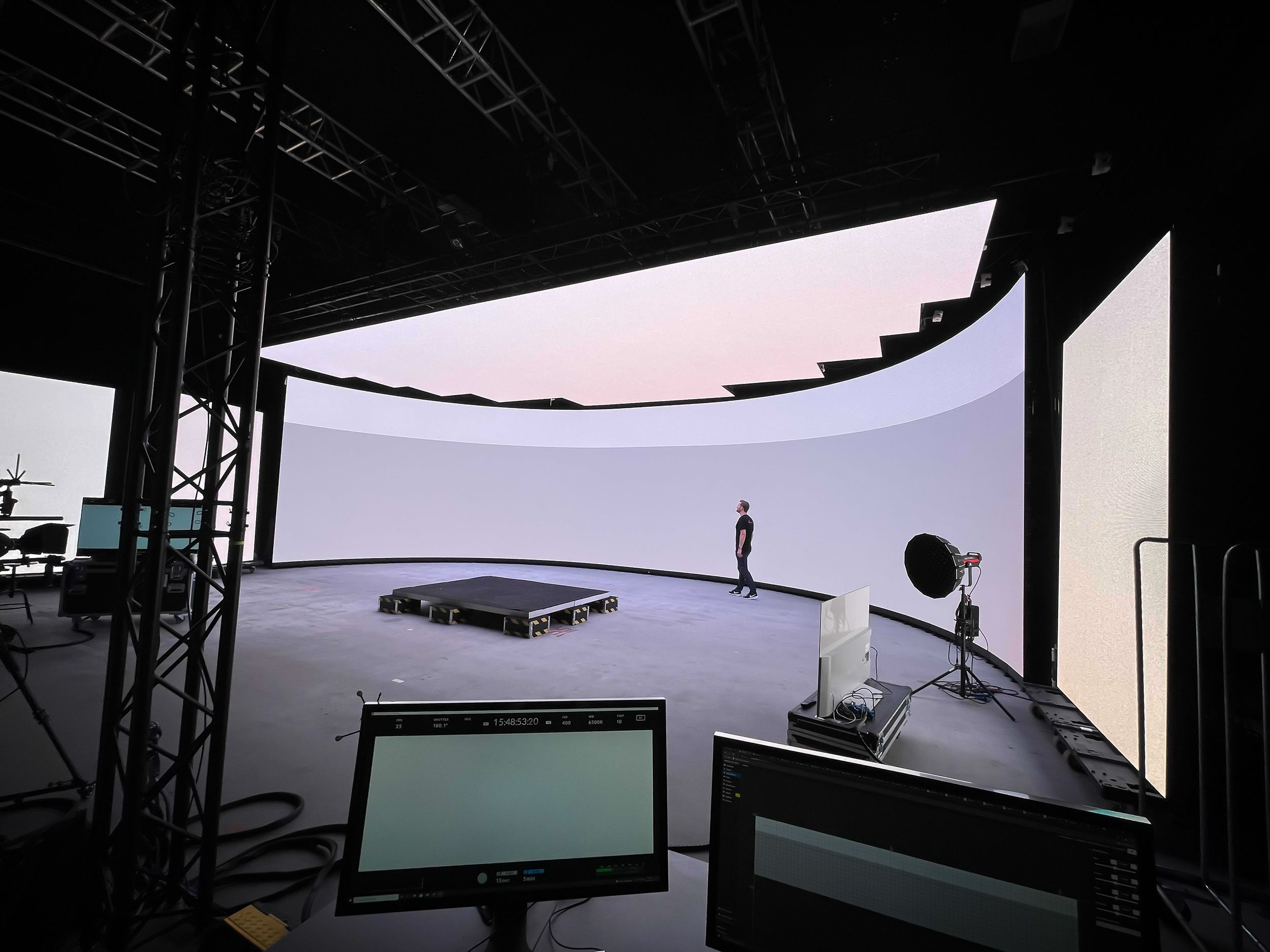 Finland Premieres ICVFX Studio with ROE Visual