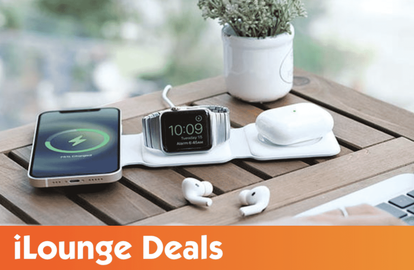 MagStack Foldable 3-in-1 Wireless Charging Station with Magnetic Floating Stand is 35% Off