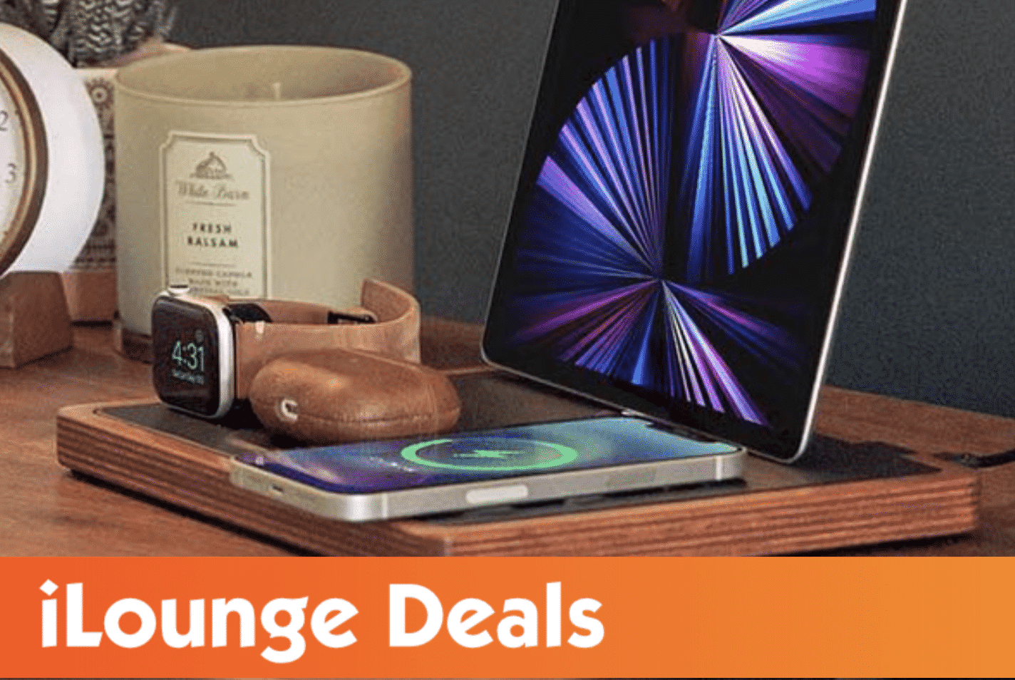 NYTSTND QUAD MagSafe Wireless Charging Station is 6% Off